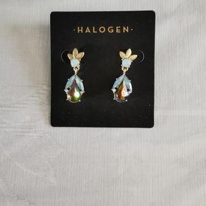 Halogen Dangle Pierced Earrings